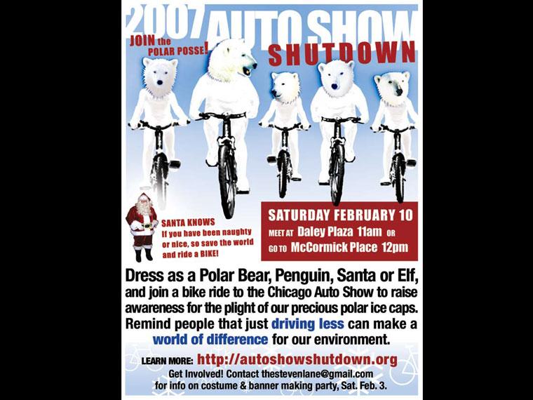 Auto Show Shutdown 2007 (flier)