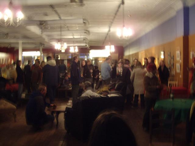 CCM Art Show Opening