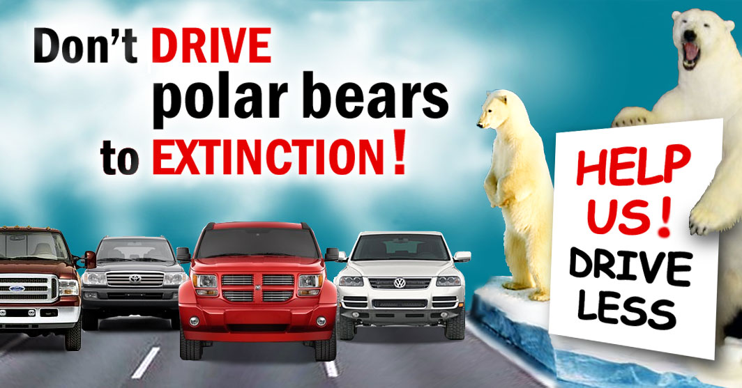 Don't Drive Polar Bears to Extinction!