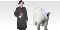 Rev. H. Antiford and Snowball